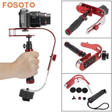 fosoto High Quality Handle video Camera Stabilizer Steady  for Canon Nikon Sony Gopro hero Digital Compact Camera DSLR