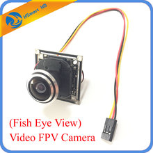 1000TVL Micro Color COMS CCD 1.7 mm Ultra Wide Angle Lens (Fish Eye View) Video FPV Camera for RC Quadcopter Aerial Photography