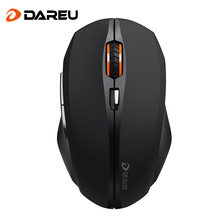 Dareu LM116G 2.4Ghz Mini Portable Wireless Mouse USB Optical 1600DPI Adjustable Professional Game Gaming Mice For PC Laptop(China)
