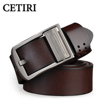 Genuine Leather Belt 38mm Wide Embossed Fashion Multifunction Rotate Buckle Belts Brand Luxury Strap Belts For Men High Quality