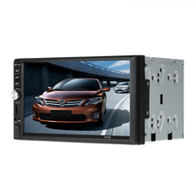 "Universal 2 Din Car MP5 Player 7"" Car Autoradio Video Mutimedia/Player double din Car radio with display Rear View Camera Input(China)"