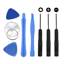 8 in 1 Repair Pry Tool Kit Opening Ferramentas Tools Pentalobe 5 Star Screwdriver For iPhone 4S 5 5S 5C 6 6S CellPhone