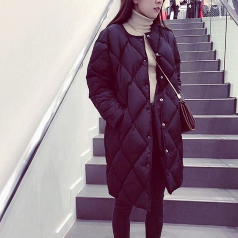 Autumn and winter new models in the long down jacket female students loose large size Korean version of thick cottonОдежда и ак�е��уары<br><br><br>Aliexpress