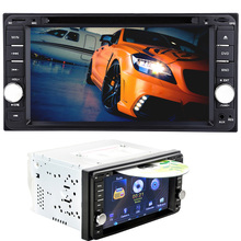 2 Din Car Video Player 7 inch GPS Navigation Car CD DVD Player Radio 2din 12V FM Bluetooth Remote Control Touch Screen