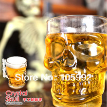 New Crystal Skull Head Vodka Shot Glass Drinking Cup Barware 500ML free shipping