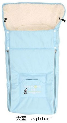 Fashion Newborn Envelope Baby Stroller Sleeping Bags Thick for Winter Infant Sleepsacks for Cart Basket Toddler Fleebag<br>