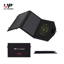 ALLPOWERS SunPower Solar Panel High Efficiency Solar Cell Dual USB Portable Solar Panel Chargers.(China)