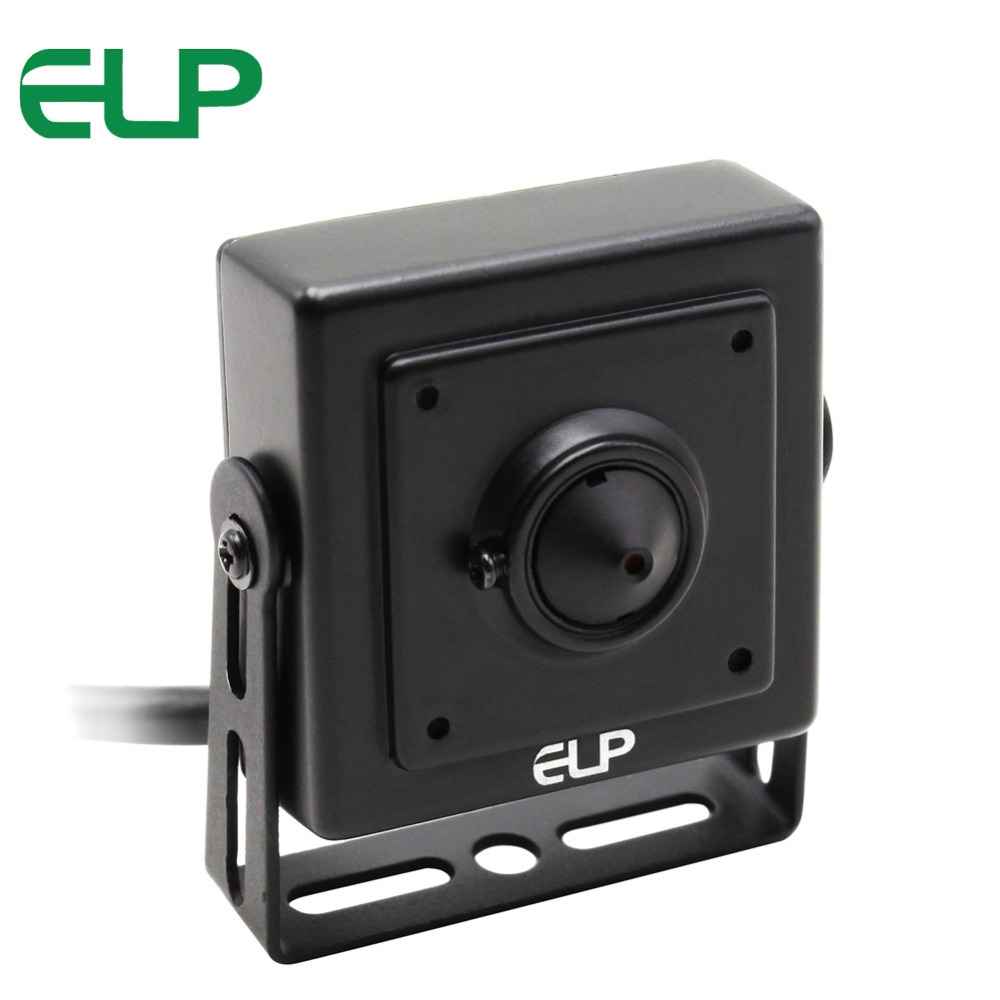 ELP CMOS 1200TVL Megapixel Sony 1200TVL Mini small indoor Video Surveillance CCTV Security Camera for Home Surveillance<br>