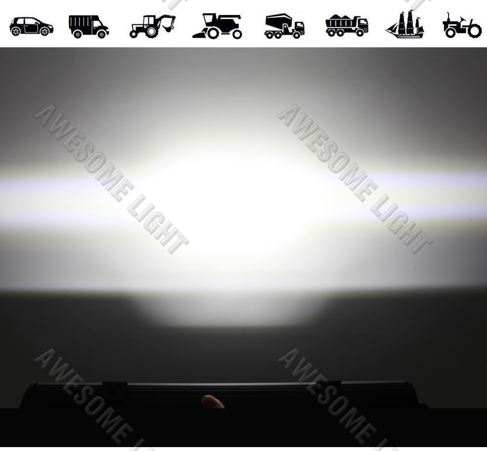 288W LED work light bar (6)