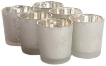 Frosted Mercury Glass Votive Candle holder,USD49.92 for 24pcs/Each USD2.08