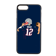 american footballer Tom Brady 12 cover case For Samsung Galaxy J1 J2 J3 J5 J7 prime A3 A5 A7 2015 2016 2017 A8 A9 phone case(China)