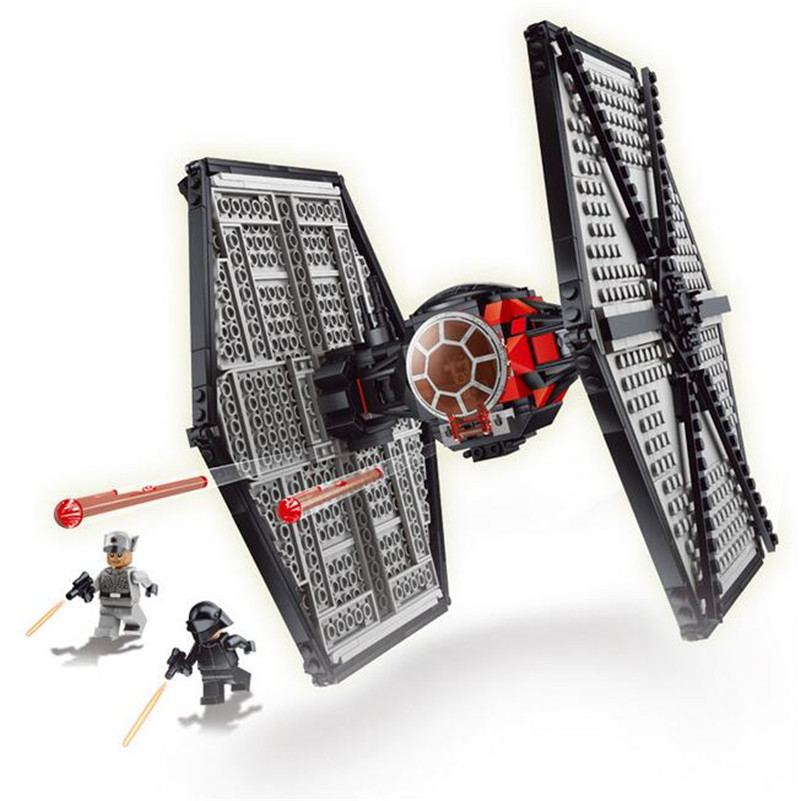 541pcs NEW 79210 Building Blocks Star Wars First Order Special Forces TIE Fighter F-O-S-F Fighter  Lpin S137<br><br>Aliexpress