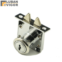 It's hard to find,desk drawer wardrobe lock with double hook ,furniture cabinet locks,Sliding door,Zinc alloy,home hardware(China)