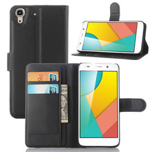 "Leather Wallet Phone Case For Huawei Honor 4A Cover Huawei Y6 Cases 5.0"" Flip Mobile Bag Magnetic Stand Shell + Card Holder"