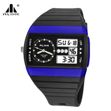 brand luxury quartz military Waterproof wrist watch Sports Digital watches man Christmas gift relojes hombre relogio masculino(China)