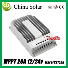 Free Shipping Solar Charge Controller New Tracer 2215BN MPPT 20A PV circuit Voltage 150V