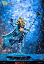Action Figure Crystal Maiden DOTA2 ACGN 22cm Doll Sexy Figure PVC Defense of the Ancients CM gifts Toys Brinquedos Model Anime