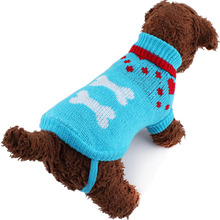Small Cute Dog Cat Puppy Knitted Jumper Sweater Coat Fairisle Heart Pets Clothes Hot Sale Multi Sizes(China)