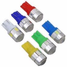 T10 194 W5W 6 SMD 5630 5730 LED Light Bulb High power led car parking Fog light auto marker light yellow red blue white green(China)