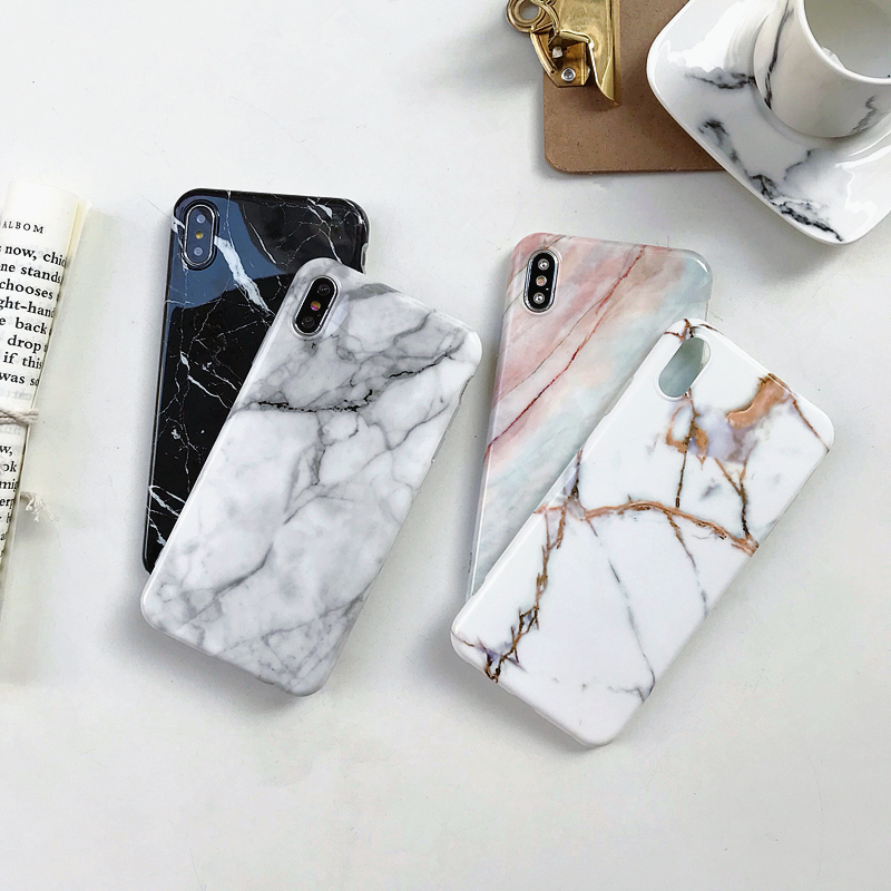 Marble-Case-on-For-Coque-iphone-7-XS-MAX-Case-Soft-TPU-Back-Cover-For-iphone (2)