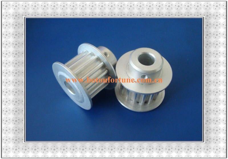 14 teeth HTD5M adjustable belt tensioner timing belt pulley and PU open end belt 20mm width a pack<br>