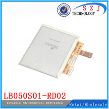 Original 5'' inch LB050S01-RD02 Ebook E-ink lcd screen LB050S01 for sony prs-350 Reader LCD display Free shipping(China)