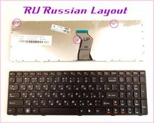 Russian RU Layout Keyboard for LENOVO IdeaPad G560A G560L G560 G 560 G565 0679 Laptop/Notebook With Frame