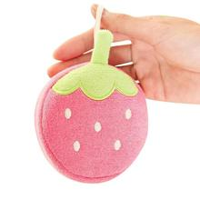 Buy Lovely baby bath sponge Fruit pattern Infant Shower faucet Bath Brushes Sponge Children bath brushes Baby towel accessories R4-3 for $2.50 in AliExpress store