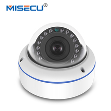 MISECU 48V POE HI3516C+SONY IMX322 H.265/H.264 IP Camera 2.8mm Vandalproof 2.0MP Hi3516CV300 F22 1920*1080P Full HD ONVIF Night
