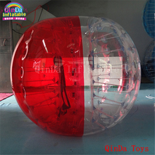 2017 hot selling bubble soccer ball,1.2m inflatable bumper ball with pump(China)