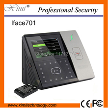 Biometric clock Wall time clock face time attendance device  access control built-in battery TCP/IP free shipping