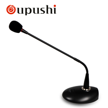 Oupushi PA System Broadcast Microphone Desktop Wired Paging Microphone(China)