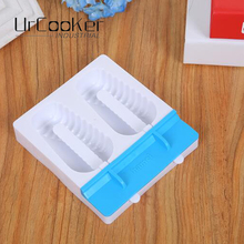 1 set colorful Classic Portable Ice Maker double grooves ice cream mold(China)
