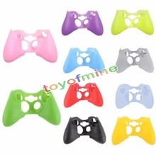 Multi Colors Silicone Cover Case SKin Protective Protection Sleeve for Xbox 360 Game Controller Silicone Light Durable Wholesale