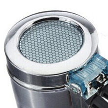 Boutique Portable Car Vehicle Air Vent Auto LED Light Cigarette Smokeless Ashtray Holder (Silver Car Ashtray)(China)