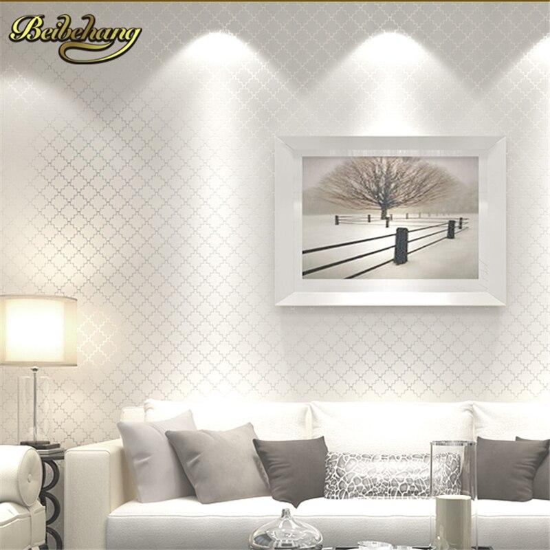 beibehang papel de parede 3d Luxury glitter wallpaper lattice gram wall paper home decor for living room bedroom papel parede<br>