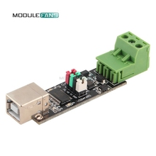 USB 2.0 to TTL RS485 Serial Converter Adapter FTDI Module FT232RL FT232 SN75176 Double Function Protection