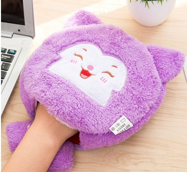 Cute gaming large pad mat paws warm in winter USB heated mouse pad with wrist, hand warmers heating pad(China (Mainland))