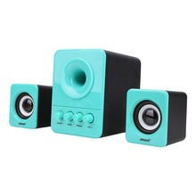 Multimedia Stereo Bass Computer PC Speakers 2.1 with Subwoofer powerful Speaker Amplifier for notebook PC DVD audio System