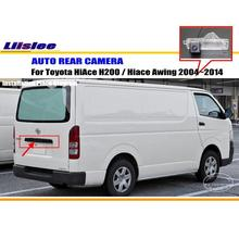 License Plate Lamp OEM / HD CCD Night Vision / Car Rear Camera / Reverse Camera For Toyota HiAce H200 / Hiace Awing 2004~2014
