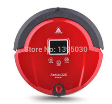 1pcs New Automatic Intelligent Robot Vacuum Cleaner Self Charging, Remote Control,LCD Touch Screen(China)