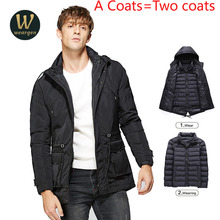 Combo Clothing New Winter Jacket Men Design Warm Thicken Coats Male Fashion Hooded Parkas Men's Windbreak Outwear(China)