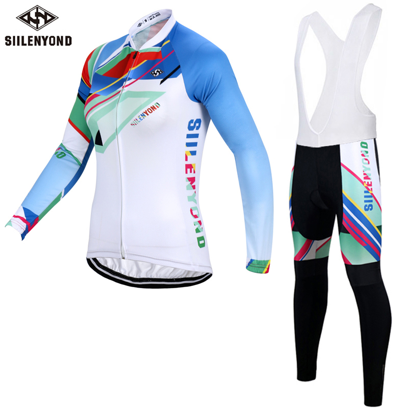 SIILENYOND Winter Thermal Fleece Women Cycling Jerseys/Super Warm MTB Bicycle Sportswear Cycling Clothing For Womens<br><br>Aliexpress