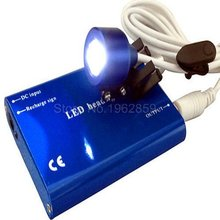 1set LED Head Light Lamp Dental Oral Surgical LED Clip On Head Light for Surgical Binocular Loupes 5 Colors