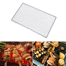 BBQ Barbecue Grill Replacement Mesh Wire Stainless Steel Net Outdoor Cook Picnic Fashion BBQ Tools(China)
