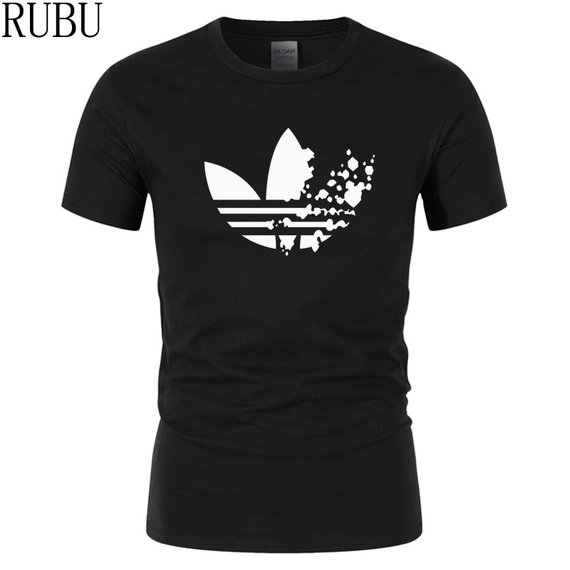 RUBU new Clothing 15 colors O neck Short sleeve Men's T Shirt Men Fashion Funny brand Tshirts Casual For Male T-shirt tops(China)