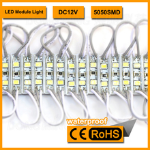 2 LED Module 3528 SMD For LED Channel Letter And Advertising LED Sign ,IP65 Waterproof ,50pcs/lot