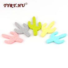 Buy TYRY.HU 1 pcs Silicone Teether Cactus Shaped Baby Teethers BPA Free Silicone Chew Charms Baby Teething Teeth Christmas Gift Toys for $2.44 in AliExpress store