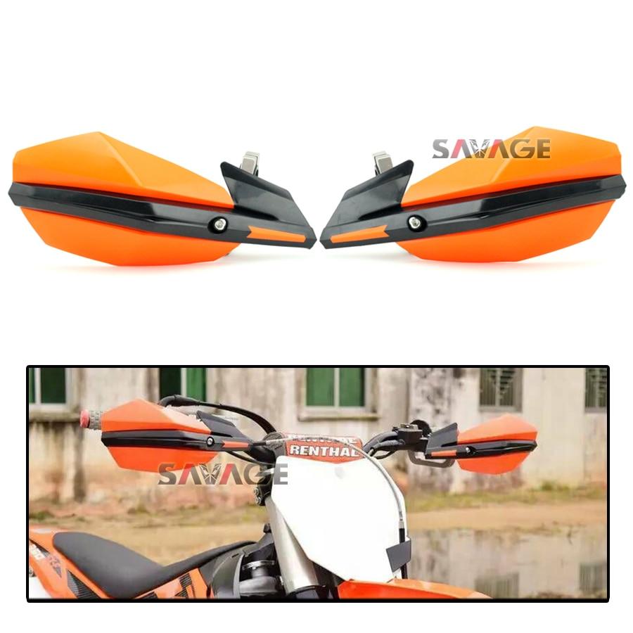 For KTM Supermoto Motorcross 350 450 500 XC-W EXC SX-F Motorbike Off-road Bike Handguard Handlebar Hand Guard<br>