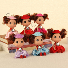 1Pcs cute Soft Interactive Baby Dolls Toy gifts for kids small Doll For girls and boys Kids Toys(China)